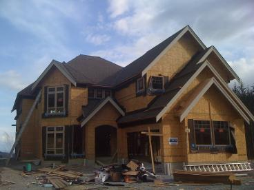 roof installation new house Langford BC