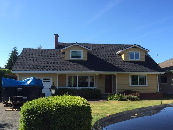new roof by roof contractors duncan bc