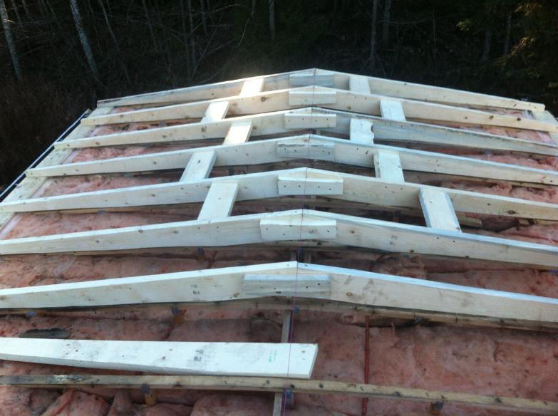 Flat roofs victoria duncan for Manufactured roof trusses